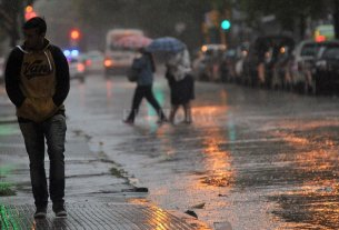 Gran parte de la provincia sigue bajo alertas meteorológicas