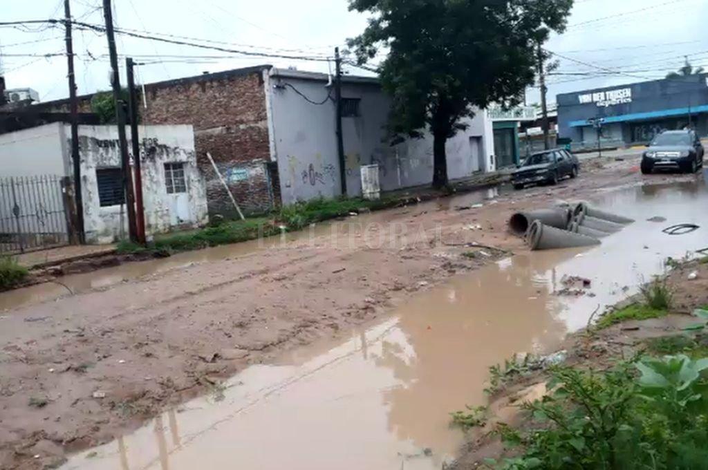 Espora: agua, vecinos desesperados y una obra de desagüe sin avances