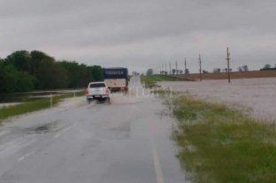 Estado de las rutas de la provincia de Santa Fe tras las lluvias -