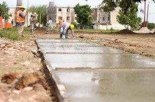 Comenzó la construcción de más de 100 viviendas en barrio Acería - Las obras ya están en marcha y se estima concluirlas en unos 5 años. Las viejas torres serán demolidas. -