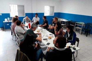 Reunión por seguridad en barrio Las Lomas -  -