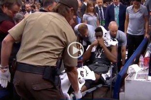 Grave lesión en la NBA