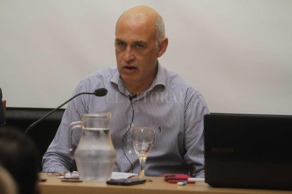 Alejandro Boscarol, nexo del intendente José Corral con el bloque de diputados provinciales de Cambiemos.  Crédito: Guillermo Di Salvatore