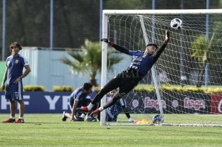 """Paulo Gazzaniga: """"Estar en la Selección es concretar un sueño que no me esperaba"""" - Busca un lugar. Paulo Gazzaniga quiere aprovechar al máximo la oportunidad que le está dando Scaloni. -"""