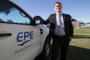 La EPE pidió realizar una audiencia pública para aumentar la tarifa - Maximiliano Neri, presidente de la EPE. -