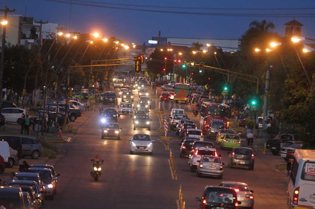 El robo tuvo lugar en un comercio de la transitada avenida Aristóbulo del Valle <strong>Foto:</strong> Archivo El Litoral