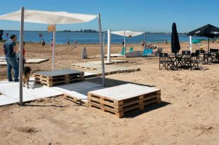 Para esta temporada, se habilitaron seis playas en la ciudad -