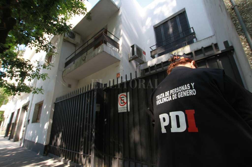 Allanamiento e investigación en barrio Sur