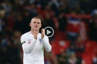 Inglaterra goleó a Estados Unidos en la despedida de Rooney  -