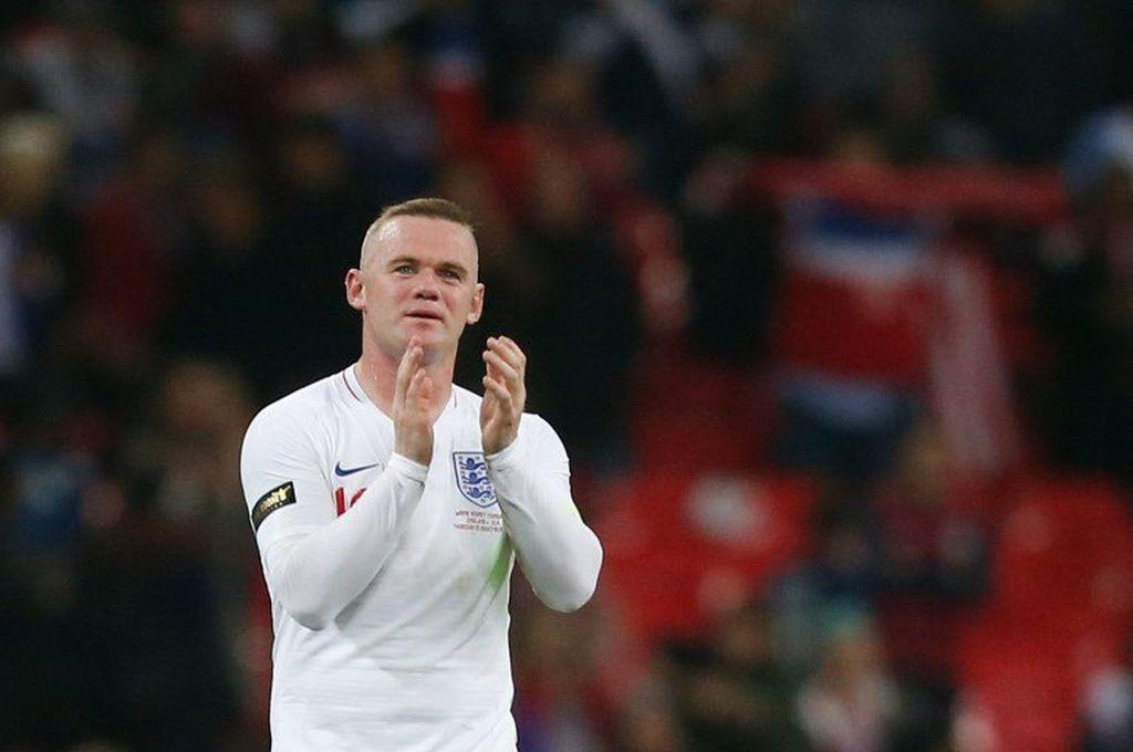 Inglaterra goleó a Estados Unidos en la despedida de Rooney