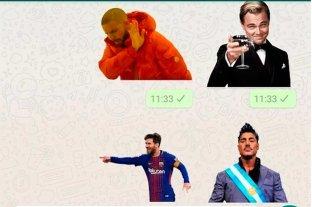 Furor por los stickers de WhatsApp: aprendé a hacer uno -  -
