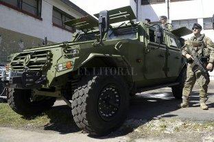 China donó vehículos blindados para reforzar la seguridad durante la cumbre del G20 -  -