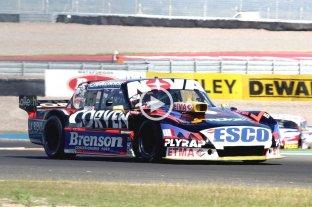 Matías Rossi se quedó con la pole provisoria en la inauguración del circuito sanjuanino El Villicum - Matías Rossi. -