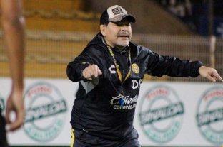 Suspendieron a Maradona: no podrá dirigir a Dorados ante Mineros
