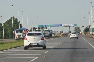 Es normal la circulación en la Autopista Santa Fe - Rosario