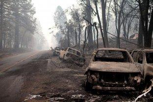 EE.UU: suben a 74 los muertos por los incendios en California