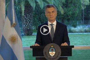 """Macri sobre el ARA San Juan: """"Habrá serias investigaciones para conocer toda la verdad"""" -  -"""