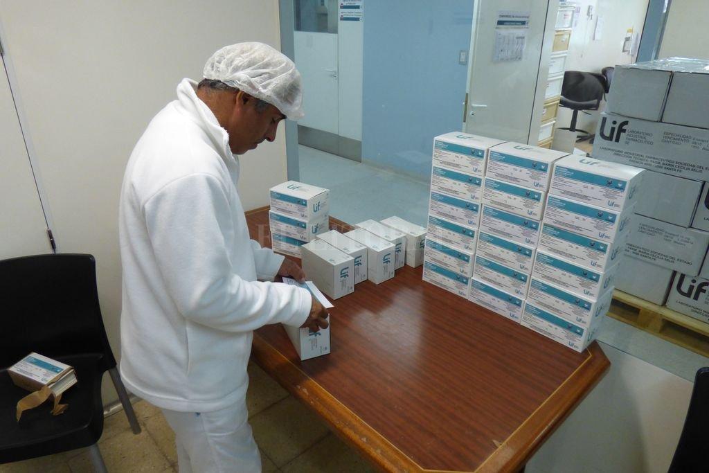 El LIF entregó más de seis millones de comprimidos de paracetamol a la Nación