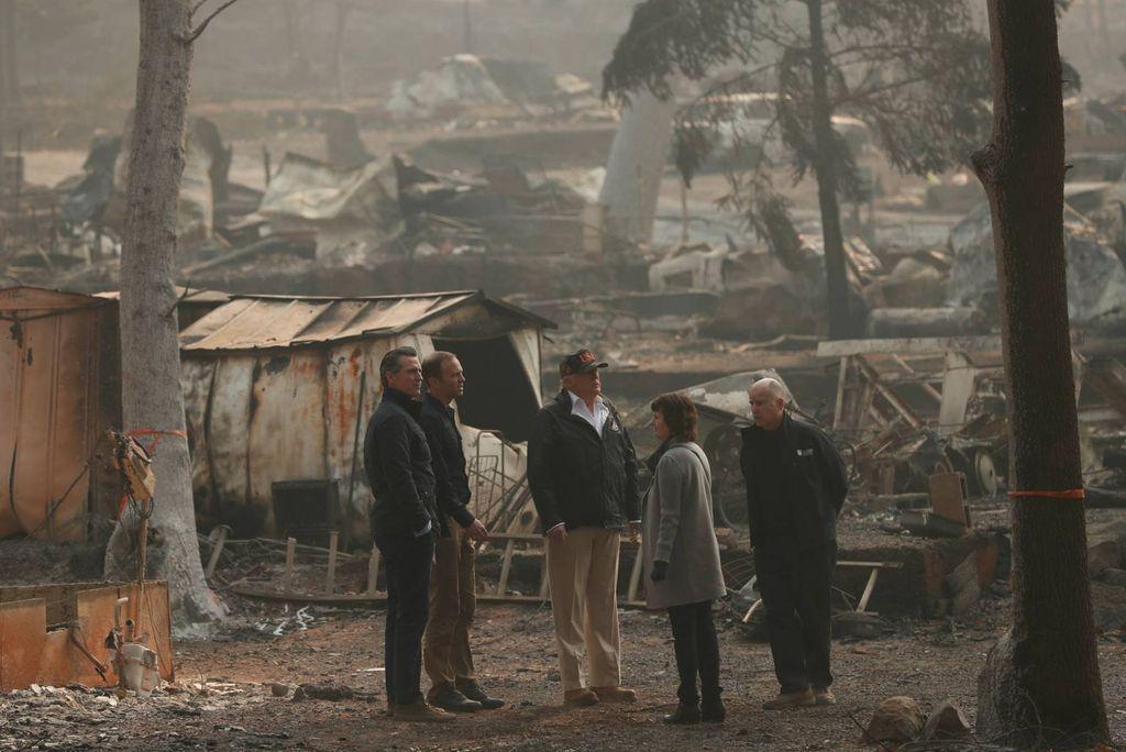 Incendio en California: 79 muertos confirmados y 1276 desaparecidos