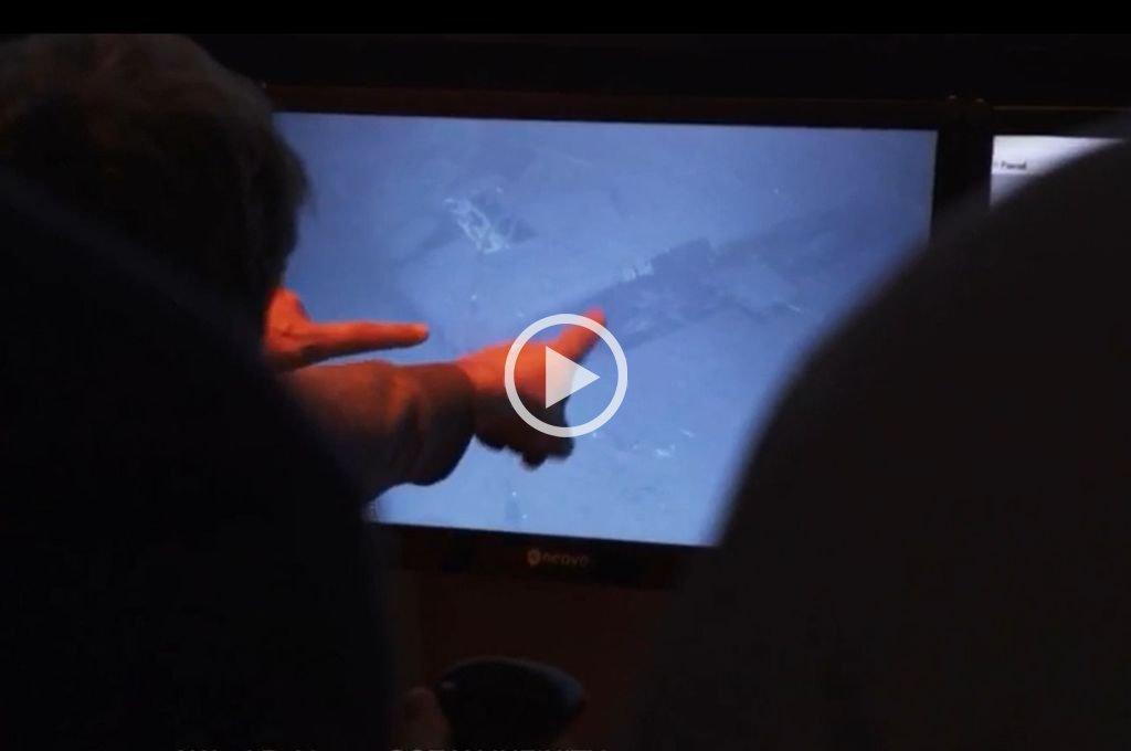 Video: el momento en el que hallaron al ARA San Juan -  -