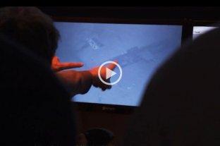 Video: el momento en el que hallaron al ARA San Juan -