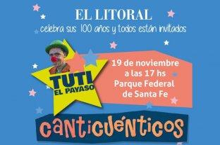 Tuti Nuñez y Canticuenticos en el Parque Federal
