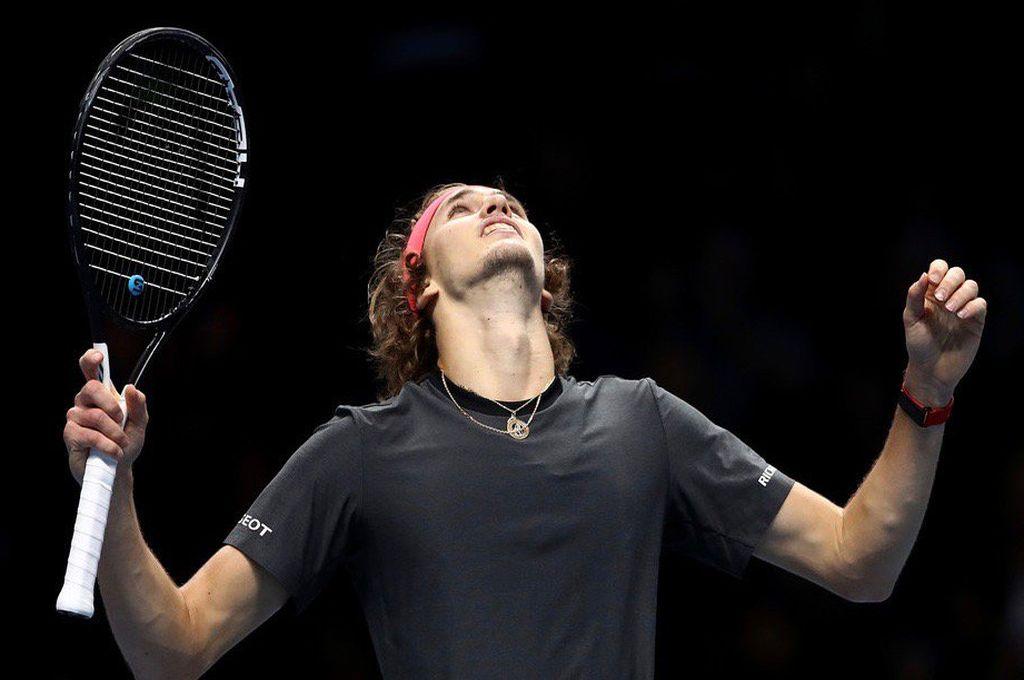 Zverev le ganó a Djokovic y se consagró campeón del Masters de Londres