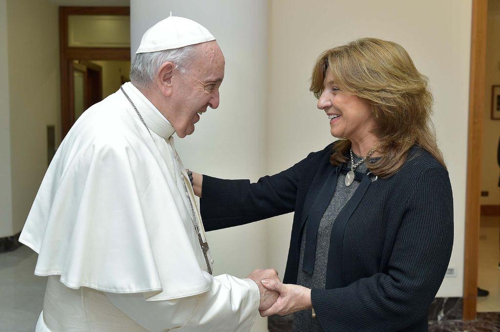El Papa Francisco y su bendición para Santa Fe