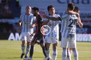 Atlético Tucumán le ganó a San Lorenzo y acortó la diferencia con Racing