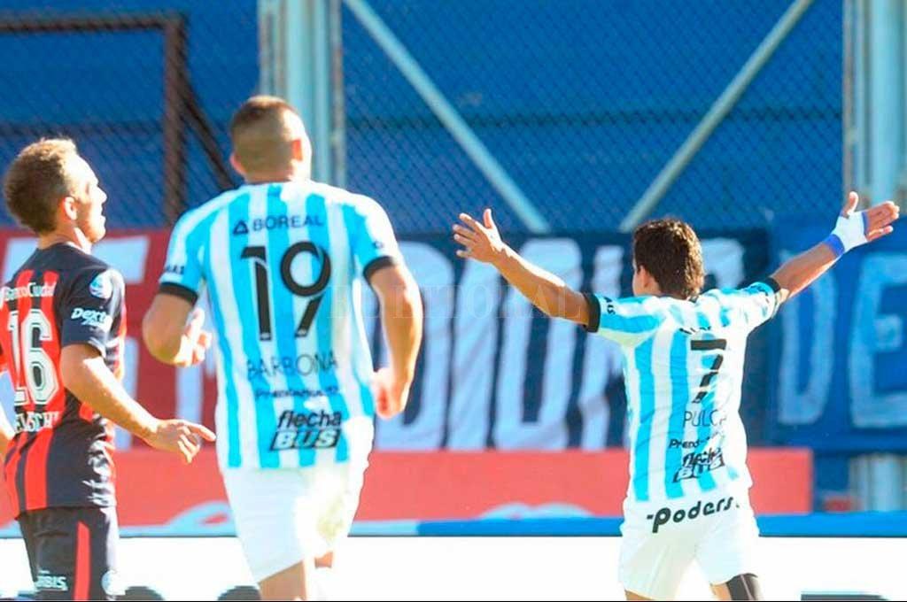 Los tucumanos ganan y festejan; quedaron segundos.  <strong>Foto:</strong> Prensa Atlético Tucumán