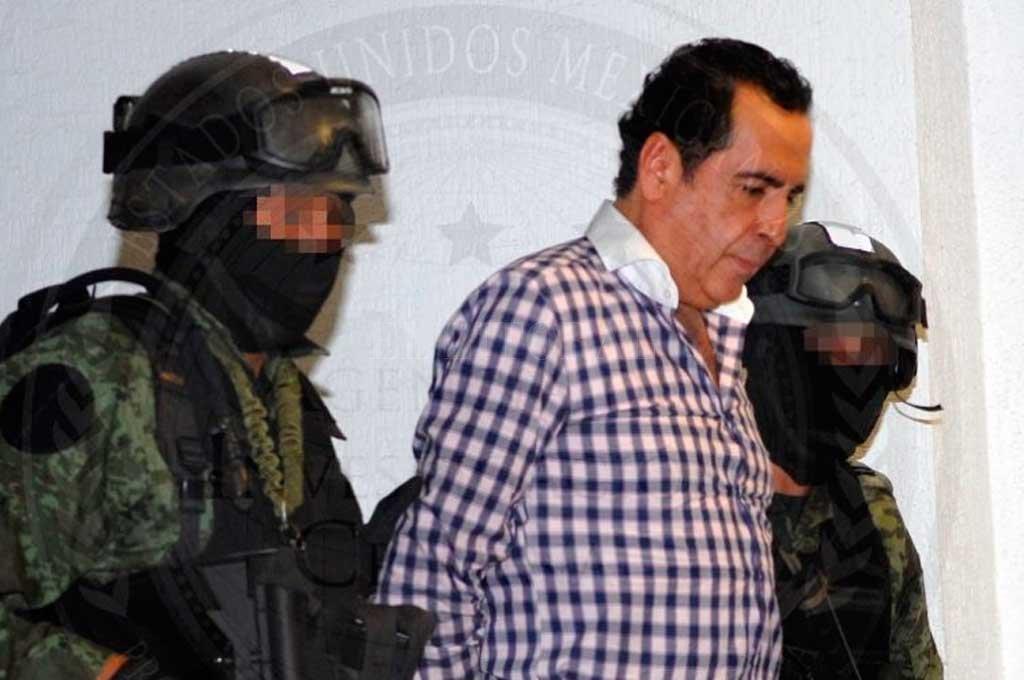 Murió en prisión Beltrán Leyva, importante narco mexicano - Imagen divulgada por el gobierno mexicano el día de la detención -