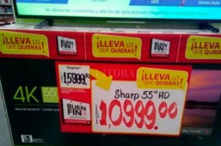 Insólito: un error en una oferta en televisores generó un aluvión de ventas