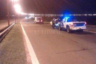 Falleció un motociclista en la circunvalación oeste de Santa Fe  - El siniestro tuvo lugar en la circunvalación oeste