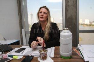 Colectivos: la quita de los  subsidios ayuda al B100 - Verónica Geese, secretaria de Estado de la Energía de Santa Fe. -