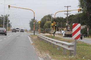 Se realiza un desvío en la Ruta 1 -