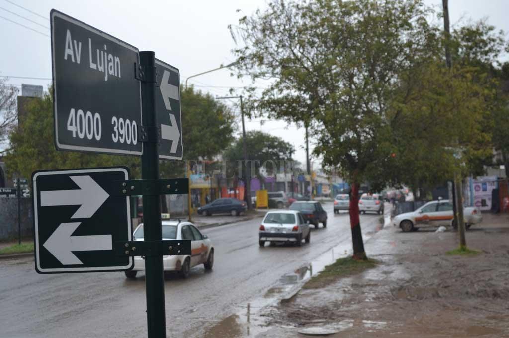El robo se produjo sobre la transitada Av. Luján <strong>Foto:</strong> Archivo El Litoral