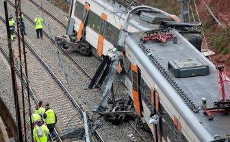 Descarriló un tren en Cataluña  -  -