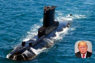 Trump envió un mensaje por el hallazgo del submarino ARA San Juan -
