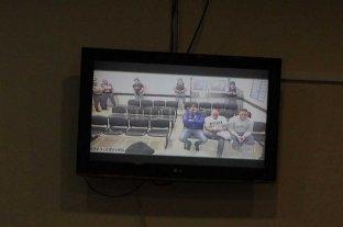 Condenaron a los hermanos Cristian   y Martín Lanatta y Víctor Schillaci  - Por videoconferencia, los imputados siguieron el juicio desde el penal de Ezeiza.
