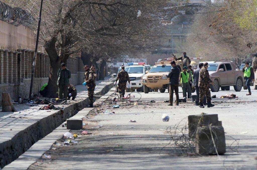 Kabul: una explosión en un salón de fiestas dejó más de 40 muertos y 80 heridos