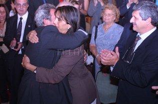 Bielsa y posibles aliados 2019 con autoridades del Partido Justicialista