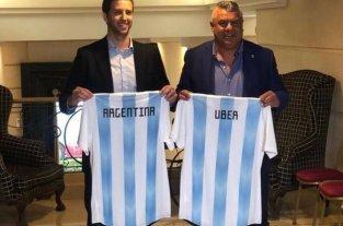 Argentina y su nuevo polémico sponsor: Uber -  -