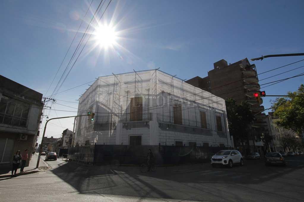 La casa se construyó hace más de 200 años y fue habitada por el Brigadier Estanislao López entre los años 1819 y 1838. Crédito: Guillermo Di Salvatore