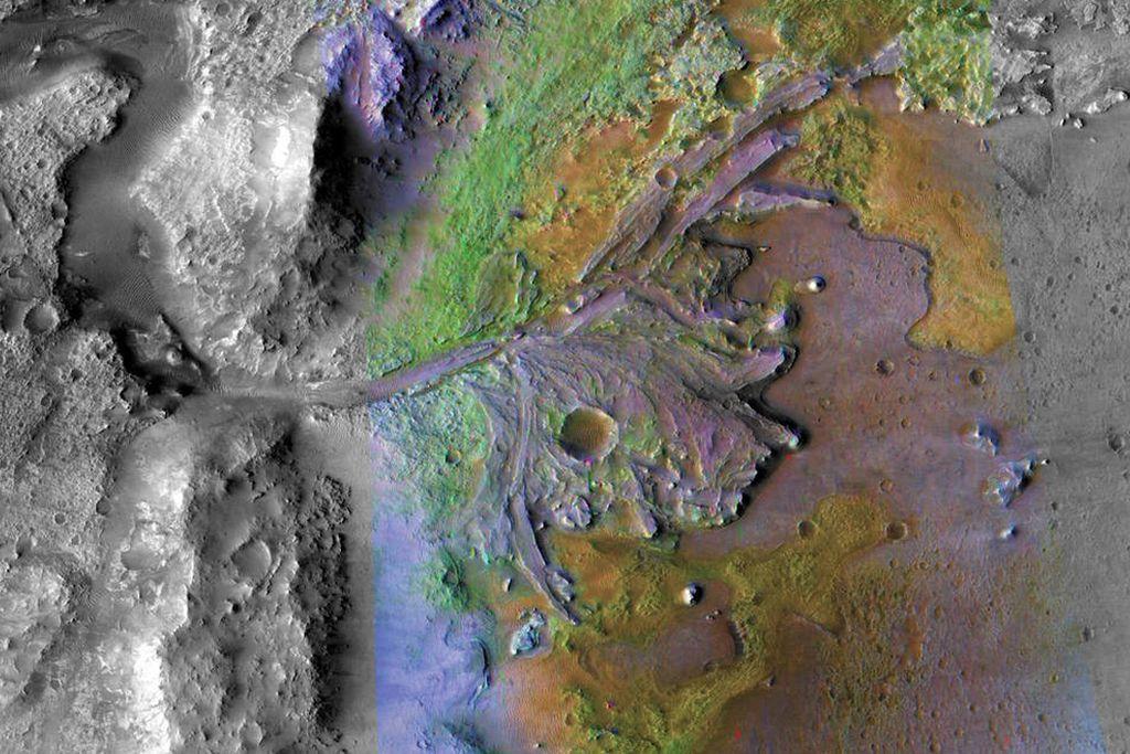 La NASA mostró dónde buscará vida en Marte