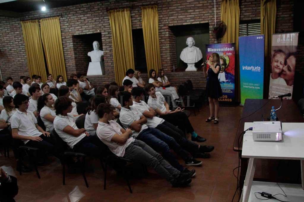 OSDE concientizó a los alumnos de La Salle sobre Bullying