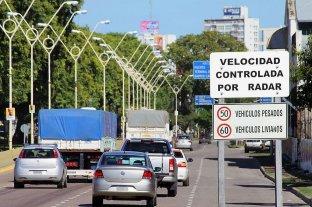 Radares de velocidad: se harán efectivos los controles en cuatro nuevos puntos de la ciudad -