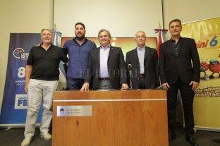 Presentaron el partido entre Libertad de Sunchales y San Lorenzo que dará inicio a la Liga Nacional -  -