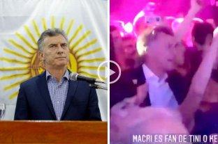 Polémica: después de anunciar el duelo por el hallazgo del ARA San Juan, Macri se fue de fiesta - De la tristeza total, a la alegría, en solo unas pocas horas. -