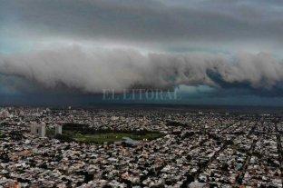 Impactantes imágenes de la tormenta en la ciudad de Santa Fe