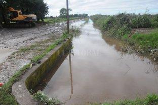 Piden la limpieza y profundización del canal Las Mandarinas